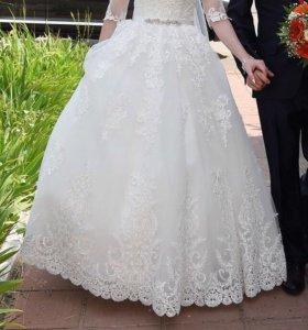 Свадебное платье,возможен торг
