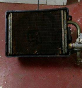 Радиатор печки в корпусе медный ваз-07_05
