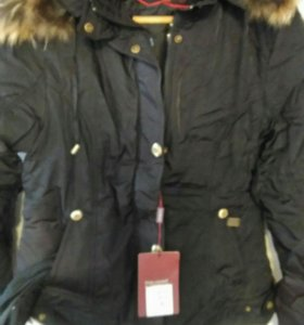 Куртка черная можно и на девочку