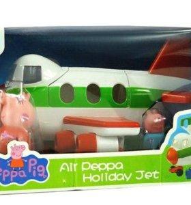 Свинка Пеппа на самолёте