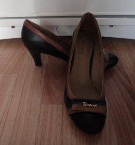 Новые туфли натур. кожа