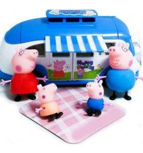 Свинка Пеппа автобус с героями