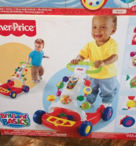 Ходунки каталка Fisher price новые