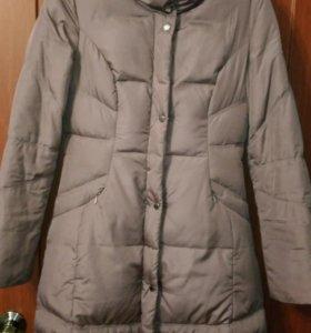 Пальто-пуховик FINN FLARE. Зима. Р-р 42-44.