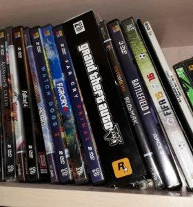 Диски с видеоиграми