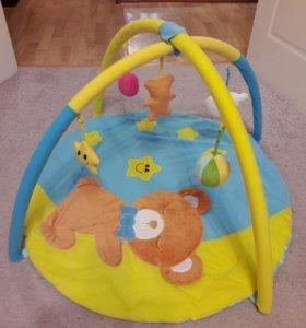 Развивающий коврик(детская ванночка в подарок)
