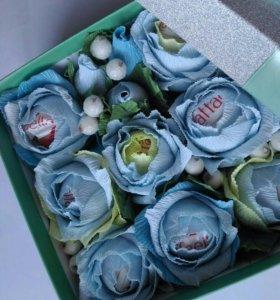 Букеты с конфетами, в наличии
