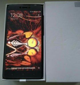 Xiaomi Redmi Note 4X, (3/16, Black & Grey), новый