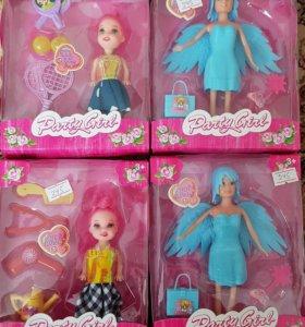Мини куклы с аксессуарами новые