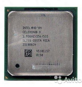 Процессоры intel 478/775 socket