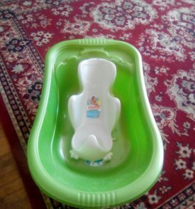 Детская ванночка с горкой