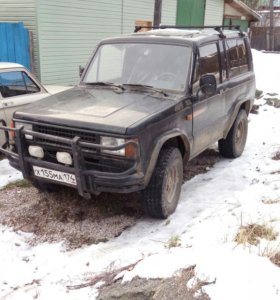 Isuzu trooper 2.6