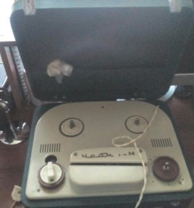 Ламповый магнитофон Чайка -М