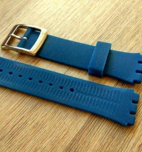 Ремешок для часов, Swatch, материал: силикон.