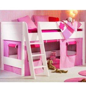 Детская кровать-чердак Сиело