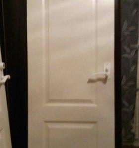 Дверь межкомнатная,дверь в ванную комнату или туал