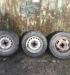 3 колеса r13 зима