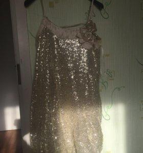 Новогоднее клубное платье