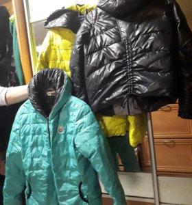 Зимняя куртка-двусторонняя (новая,распродажа)