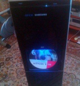 Slim dvd cinema system ht-p1200 samsung