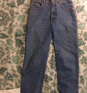 Винтажные джинсы mom