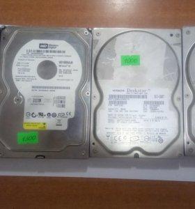 Жесткий диск для компьютера 80GB/160GB/500GB