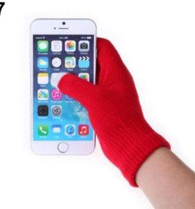 Женщины мужчины зимние перчатки для телефона