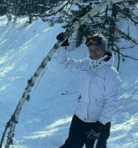 Инструктор по сноуборду. Гора Зеленая