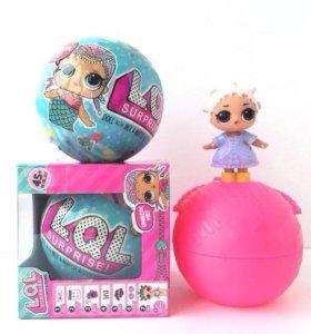 Кукла-сюрприз L.O.L., в шарике 🤗👧🏽