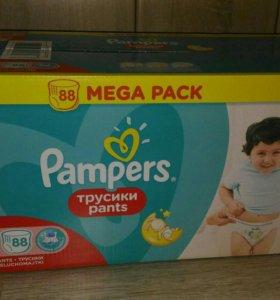 Памперс трусики, Pampers pants 6 ( 15+ кг) 88 шт.