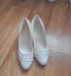 Туфельки свадебные