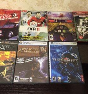 Игровые диски на компьютер