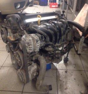 Двигатель Киа Рио 1.6
