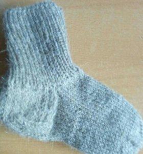 Вязаные носки , размер от 32 до 37 новые