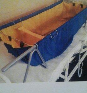 Складная ванна-простыня