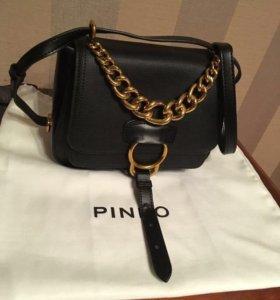 Кожаная сумка lusio новая