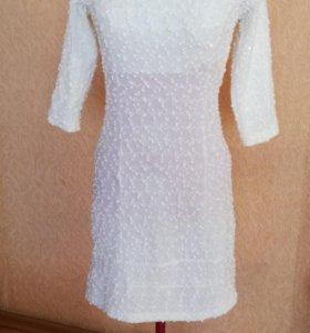 Платье новое цвет айвори42-44👗🙋