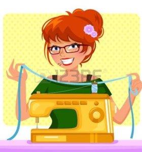 Подшив брюк,вставка замком,реставрация одежды