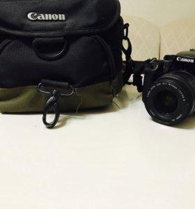 Зеркальный фотоаппарат canon eos 1000d