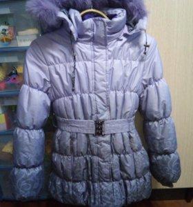 Куртка для девочки, зимняя