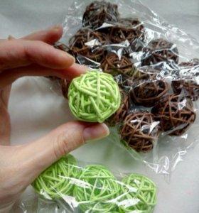 Ротанговые шарики