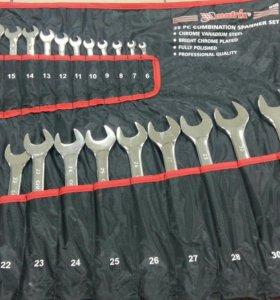 MATRIX Набор комбинированных ключей 6-32 25 шт.