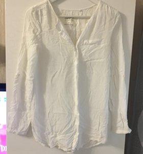 Блузка белая,S
