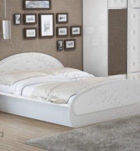 Кровать Сезия со стразами