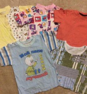 футболочки для малышей