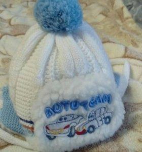 Продаётся детская зимняя шапка