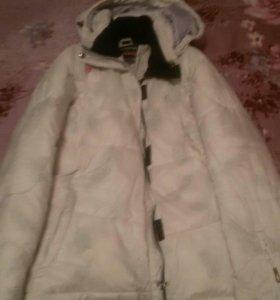 Курточки разные зимние.