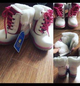 Новые зимние ботиночки 22 размер