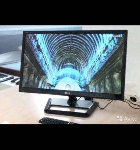 Монитор+TV,LG m2352d-plz,IPS матрица 58см