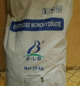 Декстроза глюкоза 25 кг